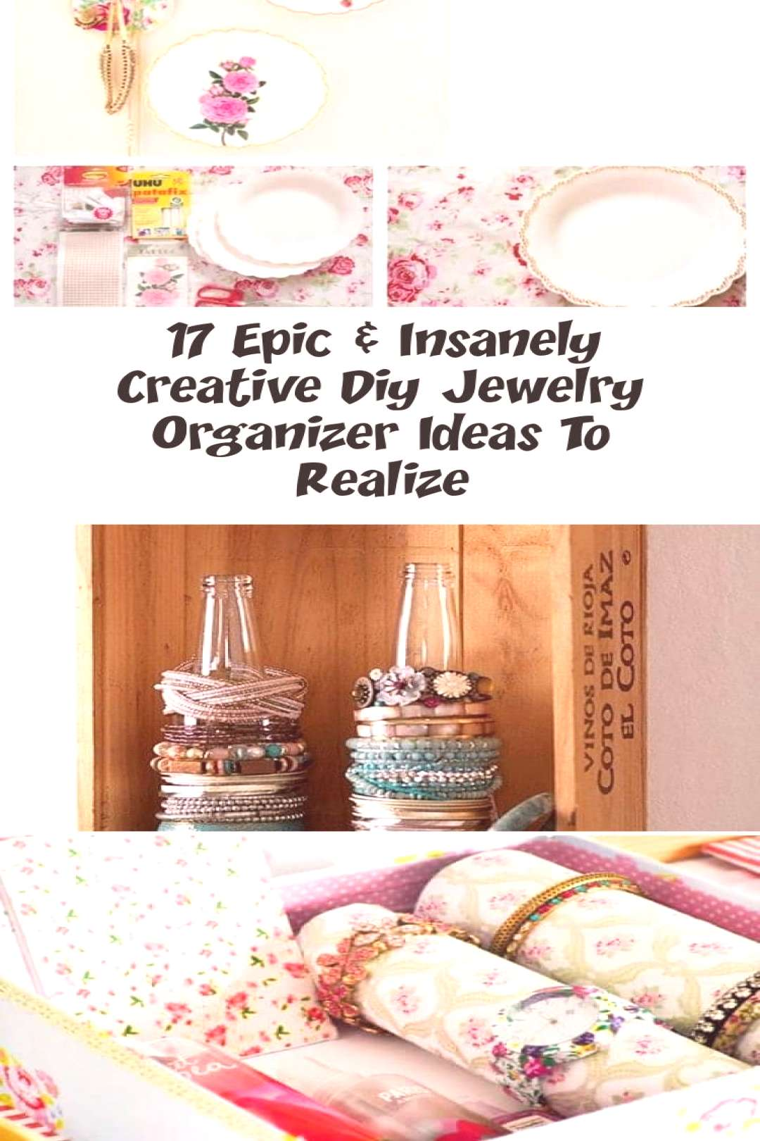 17 Epic And Insanely Creative Diy Jewelry Organizer Ideas To Realize 17 Epic And Insanely Cr